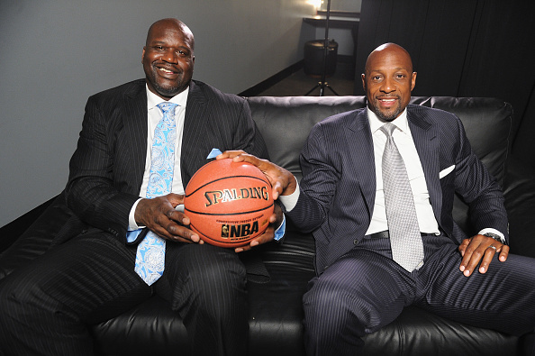 アロンゾ モーニング「American Express Teamed Up With Shaquille O'Neal And Alonzo Mourning」:写真・画像(3)[壁紙.com]
