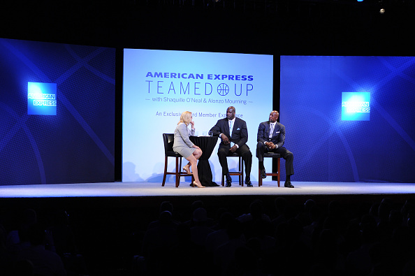Doris Burke「American Express Teamed Up With Shaquille O'Neal And Alonzo Mourning」:写真・画像(8)[壁紙.com]