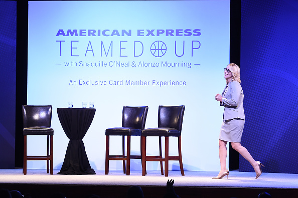 Doris Burke「American Express Teamed Up With Shaquille O'Neal And Alonzo Mourning」:写真・画像(7)[壁紙.com]