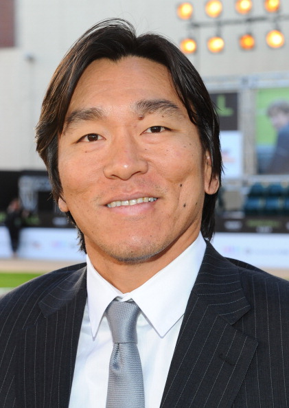 松井 秀喜「Premiere Of Columbia Pictures' 'Moneyball' - Red Carpet」:写真・画像(10)[壁紙.com]