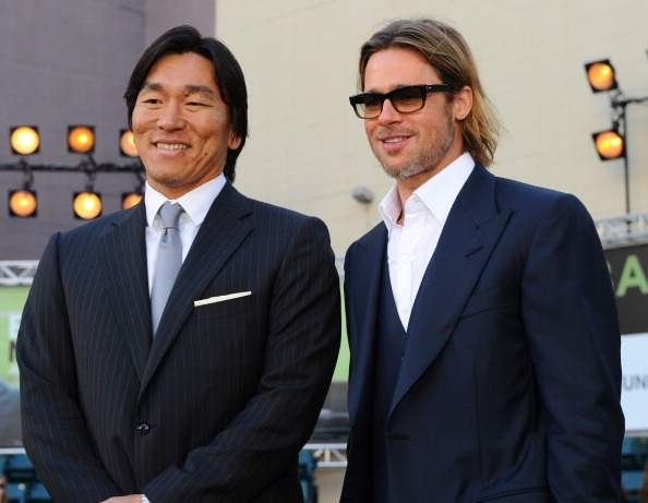 松井 秀喜「Premiere Of Columbia Pictures' 'Moneyball' - Red Carpet」:写真・画像(16)[壁紙.com]