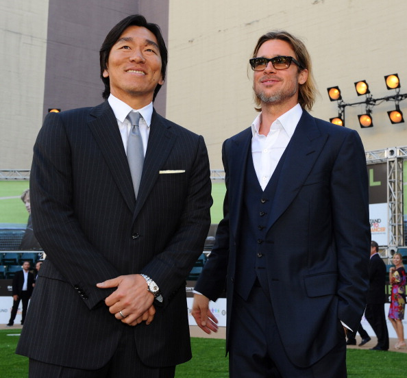 松井 秀喜「Premiere Of Columbia Pictures' 'Moneyball' - Red Carpet」:写真・画像(12)[壁紙.com]