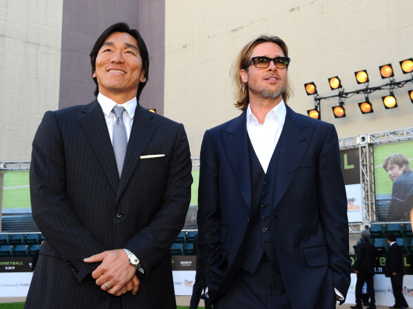Hideki Matsui「Premiere Of Columbia Pictures' 'Moneyball' - Red Carpet」:写真・画像(13)[壁紙.com]