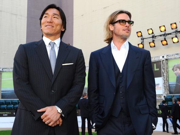 松井 秀喜「Premiere Of Columbia Pictures' 'Moneyball' - Red Carpet」:写真・画像(0)[壁紙.com]