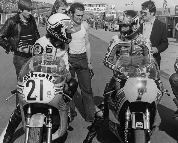 1979「Steve Baker And Barry Sheene」:写真・画像(7)[壁紙.com]