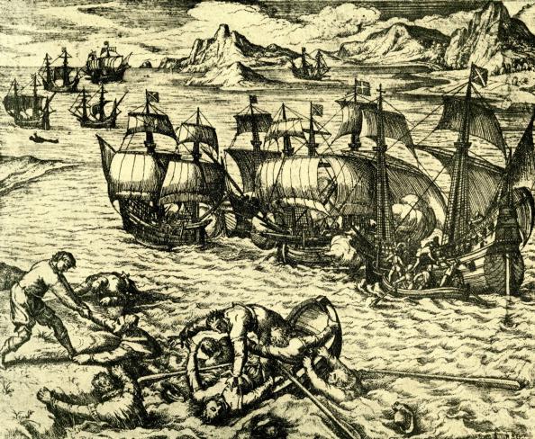 Sailor「French and Spanish adventurers fighting.」:写真・画像(17)[壁紙.com]