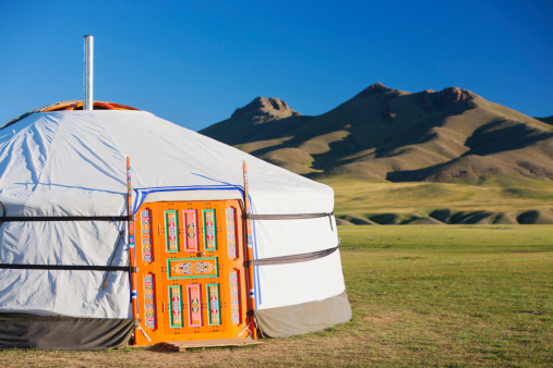 Orkhon Valley「Ger in the Orkhon Valley, Central Mongolia」:スマホ壁紙(18)