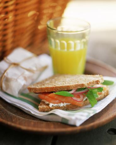 Picnic「Smoked salmon sandwich」:スマホ壁紙(18)