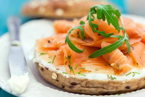 Arugula「Smoked Salmon Bagel」:スマホ壁紙(13)