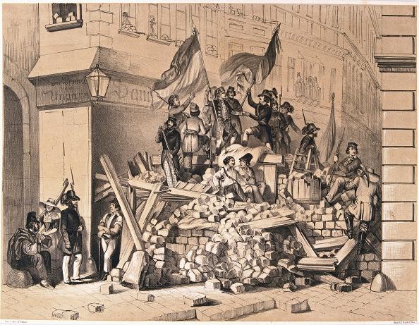 Barricade「Revolution In Vienna In 1848」:写真・画像(2)[壁紙.com]