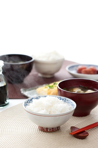 Meal「Miso Soup and Rice」:スマホ壁紙(16)
