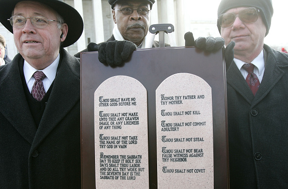 Virginia - US State「Activists Rally At The Supreme Court To Support Separation of Church and State」:写真・画像(19)[壁紙.com]