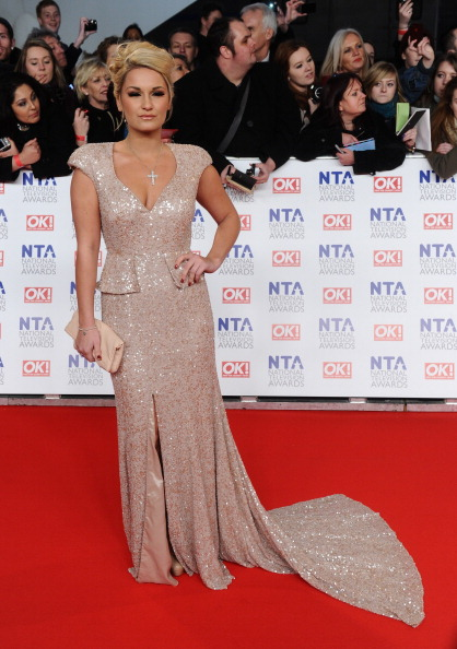 Peplum「National Television Awards 2012 - Arrivals」:写真・画像(12)[壁紙.com]