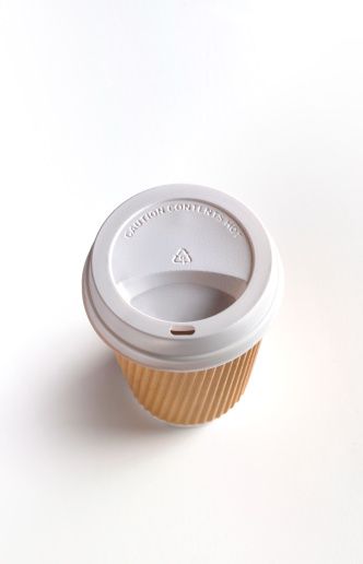 Convenience「Coffee cup with copy space」:スマホ壁紙(0)