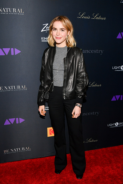 """Leather Jacket「Premiere Of """"Be Natural: The Untold Story of Alice Guy-Blaché」:写真・画像(7)[壁紙.com]"""