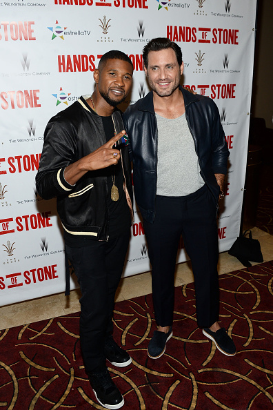 Usher - Singer「The Weinstein Company's HANDS OF STONE Special Screening Hosted At The Grove In Los Angeles」:写真・画像(14)[壁紙.com]