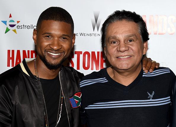 Usher - Singer「Screening Of The Weinstein Company's 'Hands Of Stone' - Red Carpet」:写真・画像(12)[壁紙.com]