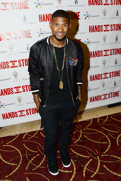 Usher - Singer「The Weinstein Company's HANDS OF STONE Special Screening Hosted At The Grove In Los Angeles」:写真・画像(0)[壁紙.com]