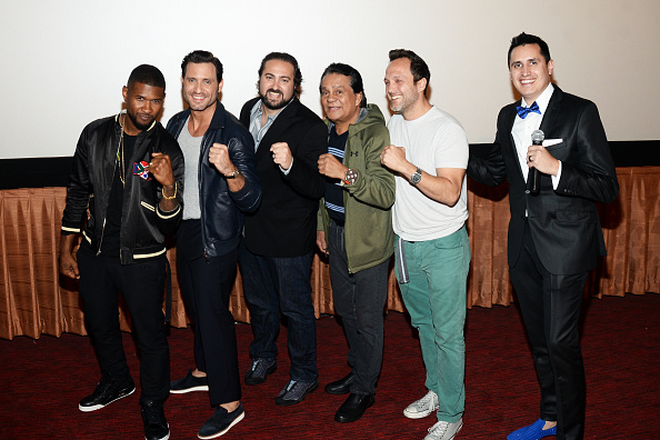 Usher - Singer「The Weinstein Company's HANDS OF STONE Special Screening Hosted At The Grove In Los Angeles」:写真・画像(13)[壁紙.com]