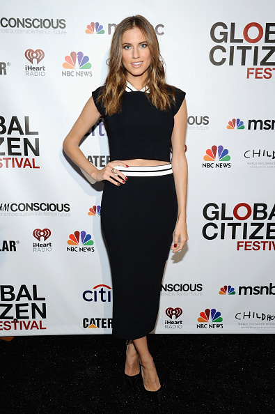 Cap Sleeve「2014 Global Citizen Festival In Central Park To End Extreme Poverty By 2030 - VIP Lounge」:写真・画像(14)[壁紙.com]