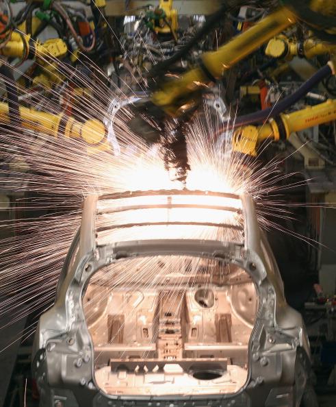 Industry「Nissan's Car Manufacturing Plant In Sunderland」:写真・画像(8)[壁紙.com]