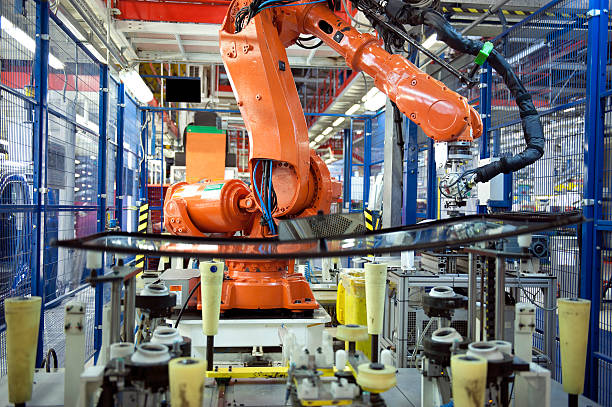 Robotic Arm, Auto Manufacturing:スマホ壁紙(壁紙.com)
