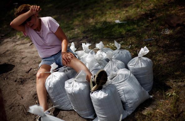 Sandbag「Tampa Prepares For Republican National Convention And Potential Hurricane」:写真・画像(14)[壁紙.com]