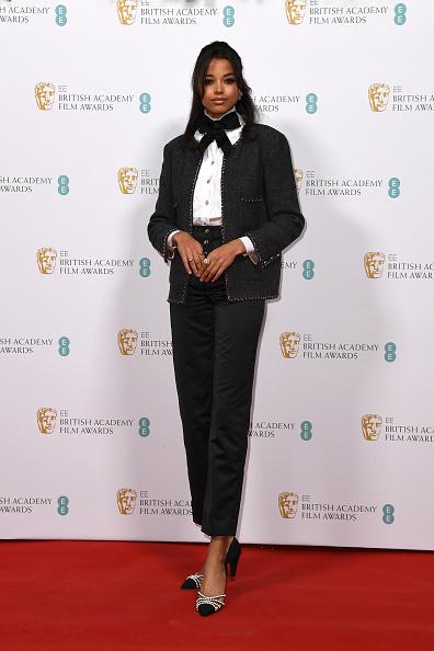 Chanel Jacket「EE British Academy Film Awards 2020 Nominees' Party - Red Carpet Arrivals」:写真・画像(8)[壁紙.com]