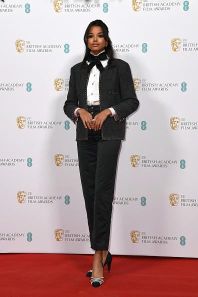 Chanel Jacket「EE British Academy Film Awards 2020 Nominees' Party - Red Carpet Arrivals」:写真・画像(7)[壁紙.com]