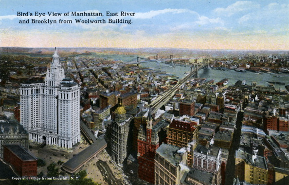 City Life「New York: Bird's Eye View of Manhattan」:写真・画像(2)[壁紙.com]