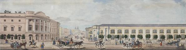 全景「The Imperial Public Library (From The Panorama Of The Nevsky Prospekt)」:写真・画像(19)[壁紙.com]