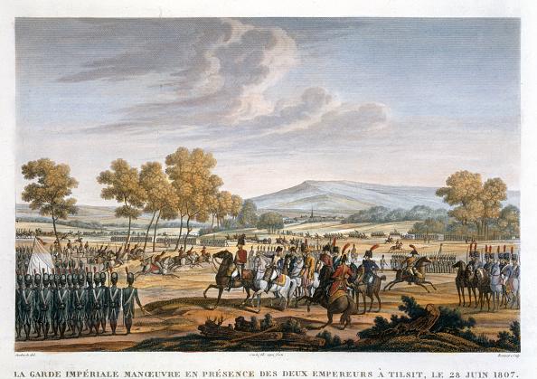 自然・風景「The Imperial Guard Manoeuvring In The Presence Of The Two Emperors At Tilsit 28 June 1807'」:写真・画像(18)[壁紙.com]