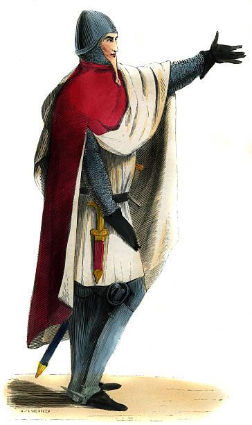Military costume, Knight - 14th century:ニュース(壁紙.com)
