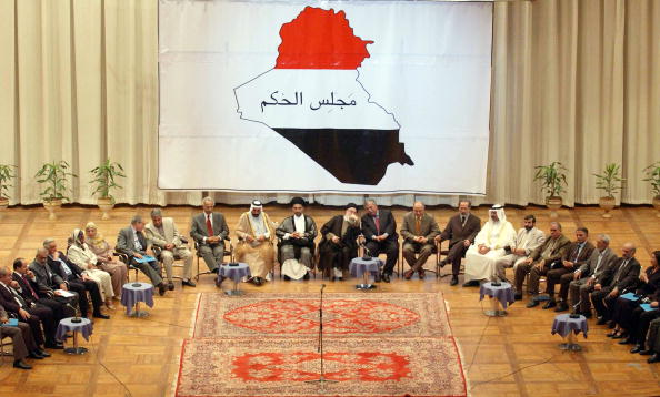 Iraqi Governing council「Iraqi Council Holds Inaugural Session 」:写真・画像(1)[壁紙.com]