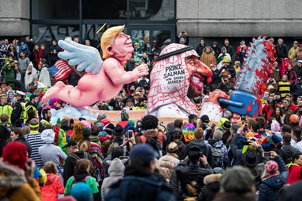 Düsseldorf「Dusseldorf Celebrates Rose Monday Carnival With Political Satire」:写真・画像(7)[壁紙.com]
