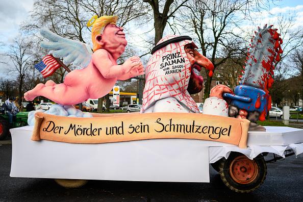 Crown Prince「Dusseldorf Celebrates Rose Monday Carnival With Political Satire」:写真・画像(16)[壁紙.com]