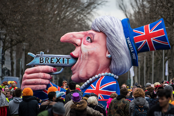 Düsseldorf「Political Satire Dominates Rose Monday Carnival Parades」:写真・画像(14)[壁紙.com]