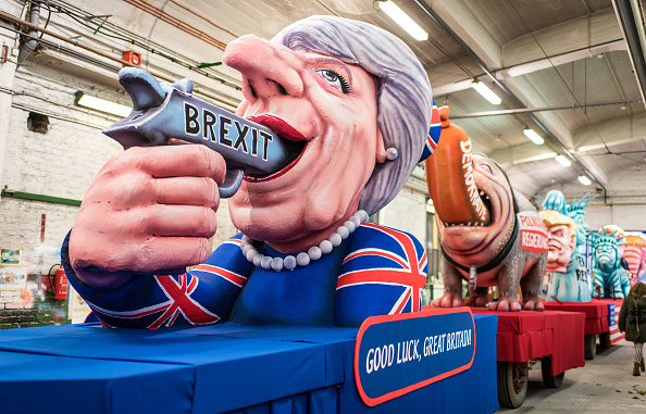 Brexit「Political Satire Dominates Rose Monday Carnival Parades」:写真・画像(19)[壁紙.com]