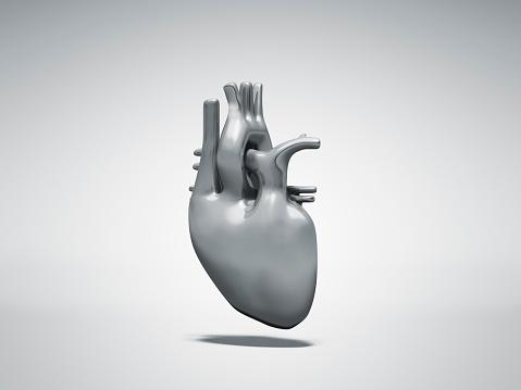 Metallic「Normal metal heart」:スマホ壁紙(3)