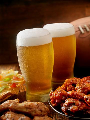 Chicken Wing「Beer, Football and Wings」:スマホ壁紙(4)