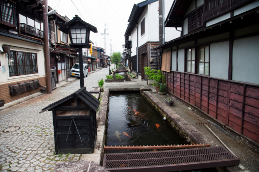 Carp「Street with Canal」:スマホ壁紙(5)