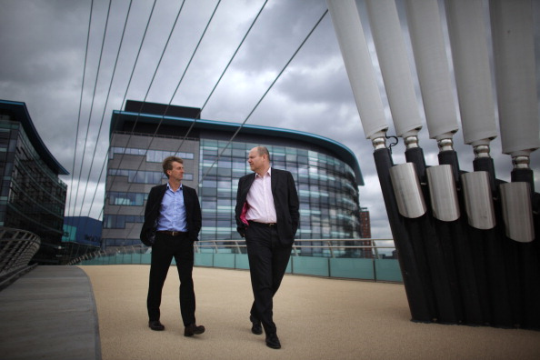 Salford Quays「BBC Director General Mark Thompson Gives A Tour Of The New BBC Headquarters In MediaCity」:写真・画像(17)[壁紙.com]