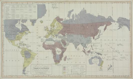 Latitude「Vintage chart of the world」:スマホ壁紙(14)
