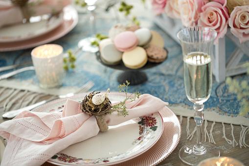 Easter Basket「Elegant Easter Dining Table」:スマホ壁紙(12)