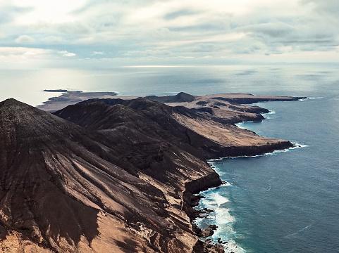 cloud「ハンディア半島、フェルテベントゥラ島、カナリア諸島、スペイン」:スマホ壁紙(2)