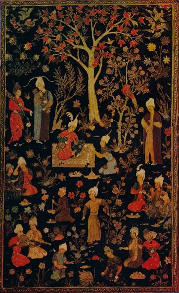 葉・植物「Persian Papier Mache Book Cover」:写真・画像(12)[壁紙.com]