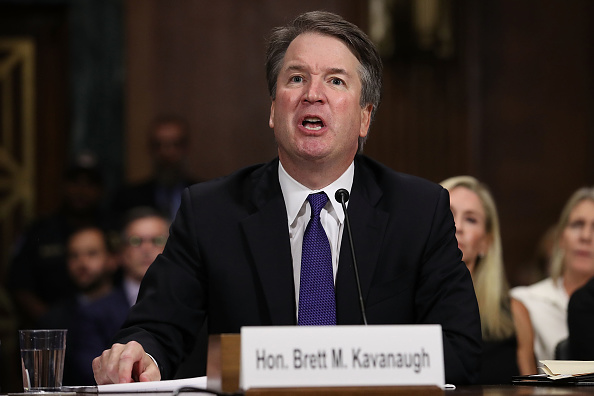 Testimony「Dr. Christine Blasey Ford And Supreme Court Nominee Brett Kavanaugh Testify To Senate Judiciary Committee」:写真・画像(13)[壁紙.com]