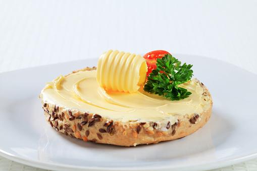 Bun - Bread「Bread roll and butter」:スマホ壁紙(9)