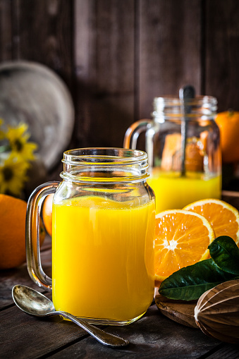 Vegetable Juice「Preparing orange juice at home」:スマホ壁紙(14)