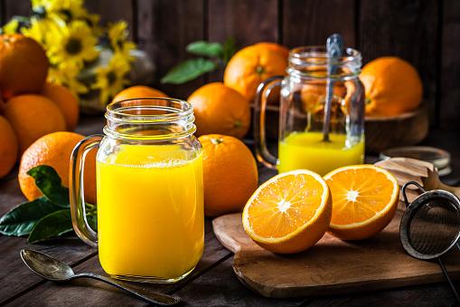 Vegetable Juice「Preparing orange juice at home」:スマホ壁紙(6)